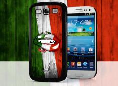 Coque Samsung Galaxy S3 Lips Coupe du Monde 2014-Italia