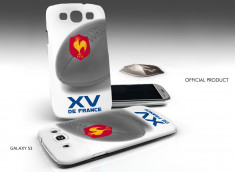 Coque Officielle Galaxy S3 XV de France de Rugby - Ballon