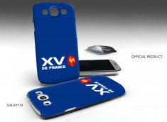 Coque Officielle Samsung Galaxy S3 XV de France de Rugby