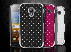 Coque Samsung Galaxy Ace 2 Luxury Leather