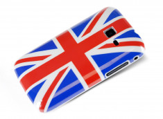 Coque Samsung Galaxy Y Pro- UK Flag