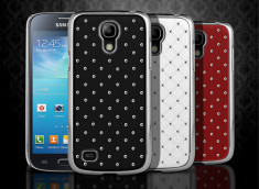 Coque Samsung Galaxy S4 mini Luxury leather