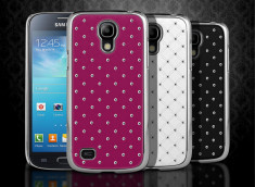 Coque Samsung Galaxy S4 mini Luxury leather Pearl-Rose