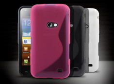 Coque Samsung Galaxy Beam Silicone Grip
