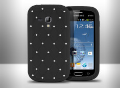 Coque Samsung Galaxy Trend Luxury Flex-Noir