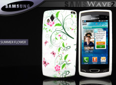 Coque pour Samsung Wave 2 - Summer Flower