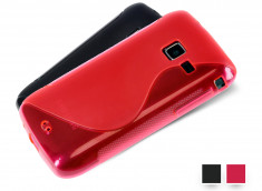 Coque Samsung Wave Y Grip Flex