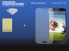 KIT 1 film protecteur effet Diamant Samsung Galaxy S4