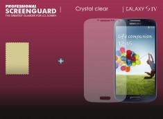 KIT avec 1 film protecteur + 1 chiffon Samsung Galaxy S4