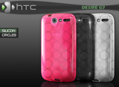 "Coque HTC Desire G7 ""Silicon Circles"""