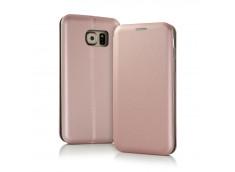 Etui Samsung Galaxy J6 2018 Flip Metalic-Rose