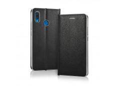 Etui Samsung Galaxy A6 Plus Slim Flip-Noir