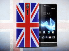Coque Sony Xperia S UK Flag