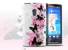 Coque Sony Xperia X10 Butterfly flex