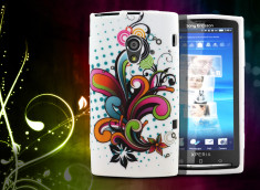 Coque Sony Xperia X10 Retro Shapes