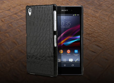 Coque Sony Xperia Z1 - Croco Gloss