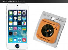 Sticker iPhone/iPad/iPod Touch Bouton Home- Vinyle Orange