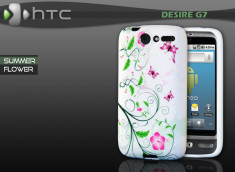 "Coque HTC Desire G7 ""Summer Flower"""
