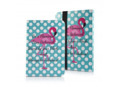 Etui Tablettes Universel 9-10 pouces - Flamingo and Dots