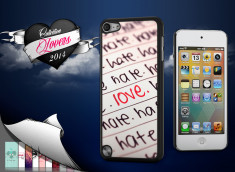 Coque iPod Touch 5 Hate but Love