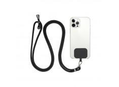 Necklace-Tour de Cou Smartphones Universel-Noir