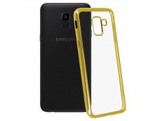 Coque Samsung Galaxy J6 Plus Gold Flex