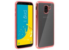Coque Samsung Galaxy J4 Plus Rose Gold Flex