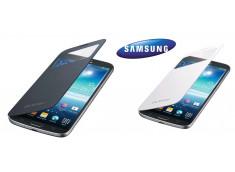 Façade/Etui S View Cover Samsung Galaxy Mega 6.3