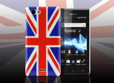 Coque Sony Xperia J - UK Flag