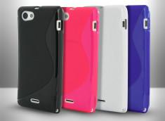 Coque Sony Xperia J Silicone Grip