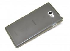 Coque Sony Xperia M2 Silicone Case Noire by Moxie