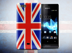 Coque Sony Xperia Miro British Flag
