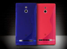 Coque Sony Xperia P Grip Flex Translucide