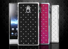 Coque Sony Xperia P Luxury leather