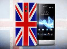Coque Sony Xperia P UK Flag