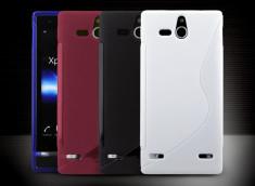 Coque Sony Xperia U Silicone Grip