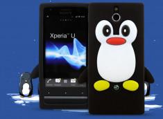 Coque Sony Xperia U Pingouin