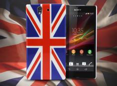 Coque Xperia Z British Flag