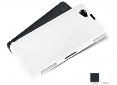 Coque Sony Xperia Z1 Compact Silicone Grip