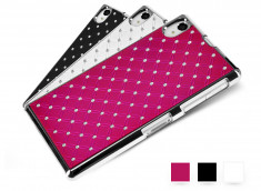 Coque Sony Xperia Z1 Luxury Leather Pearl