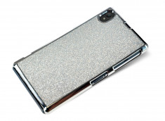 Coque Sony Xpéria Z1 Glam Shine-Argent