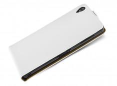 Etui Sony Xperia Z5 Business Class-Blanc