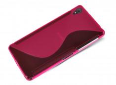 Coque Sony Xperia Z5 Premium Silicone Grip-Rose