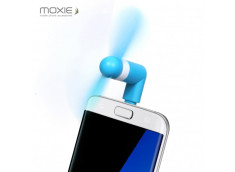 Mini Ventilateur Micro USB Moxie-Bleu