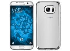 Coque Samsung Galaxy J7 2017 Silver Flex