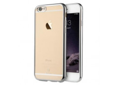 Coque iPhone 5C Silver Flex