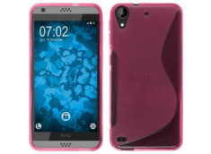 Coque HTC Desire 530 Silicone Grip-Rose
