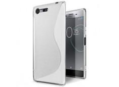 Coque Sony Xperia XZ Premium Silicone Grip-Translucide