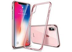 Coque iPhone X Rose Gold Flex