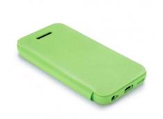 Etui iPhone 5C TEX-FOLIO-Vert